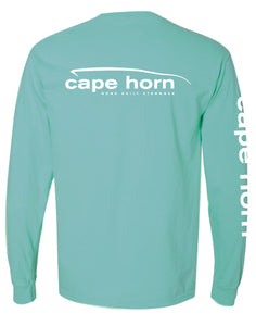 Cape Horn Classic Logo Long Sleeve Shirt - Chalky Mint