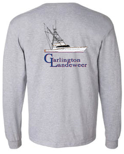 Garlington Yachts 61' Line Drawing Long Sleeve Shirt