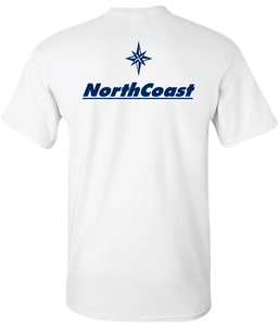 NorthCoast Boats Navy Logo Tee