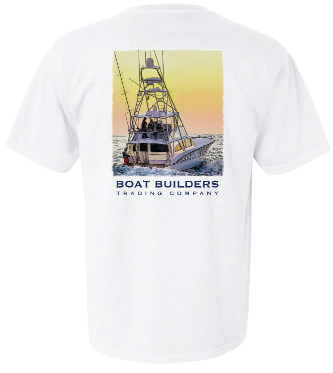 Boat Builders Trading Co. Sunrise 61' Short Sleeve Shirt