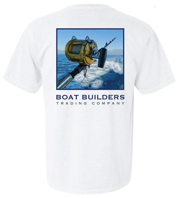 Boat Builders Trading Co. Offshore Reel Short Sleeve Shirt