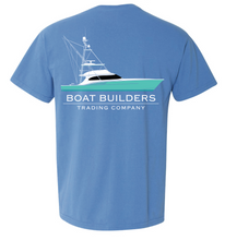 Boat Builders Trading Co Sportfisher Green Hull - Dockside Blue
