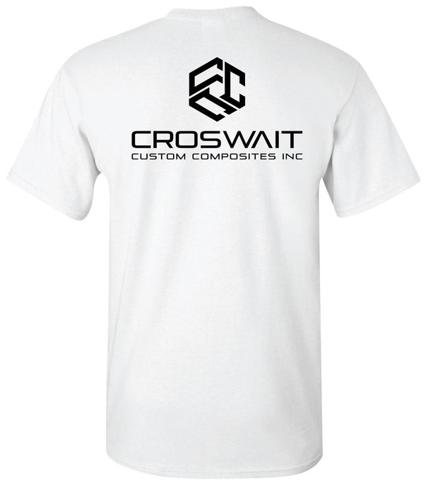 Croswait Custom Composites Classic Logo Shirt