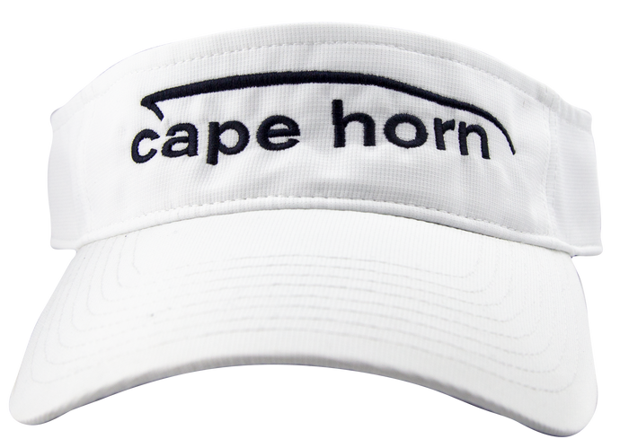 Cape Horn Performance Visor - White
