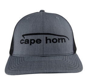 Cape Horn Trucker Hat - Heather Grey