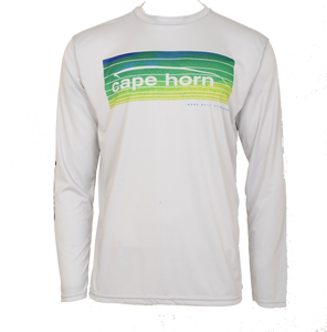 Cape Horn Mahi Stripe Performance Long Sleeve