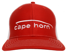 Cape Horn Trucker Hat - Red