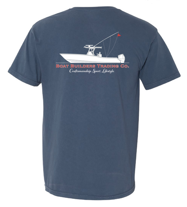 Boat Builders Trading Co. Center Console Short Sleeve Shirt