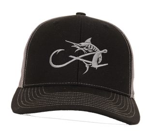 Albemarle Boats Black Trucker Hat