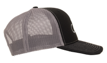 Albemarle Boats Black trucker hat with grey mesh