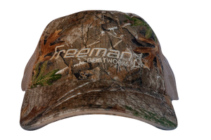 Freeman Boatworks Real Tree Camo Trucker Hat