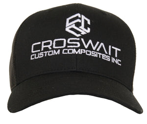 Croswait Custom Composites Black Trucker