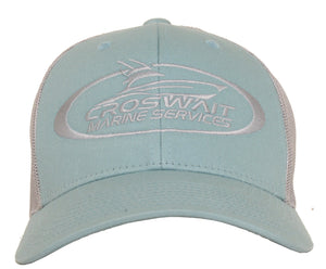Croswait Marine Services Smoke Blue Trucker