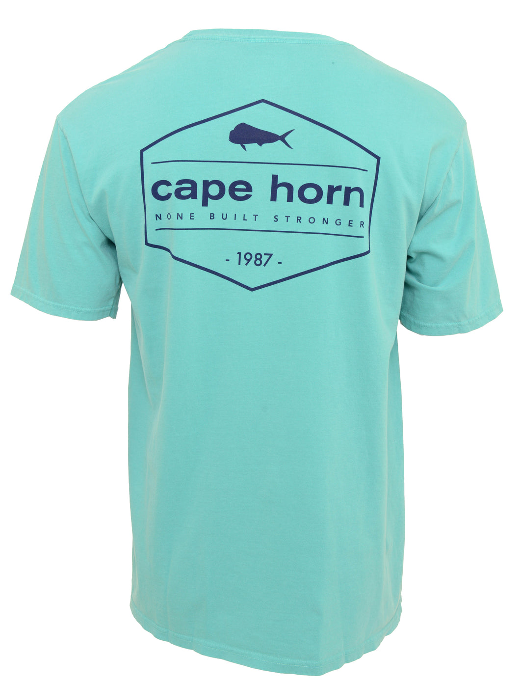 Cape Horn Vintage Stamp Cotton Short Sleeve