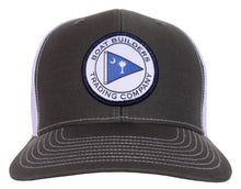 Boat Builders Trading Co. SC Flag Patch Structured Trucker Hat - Charcoal/White