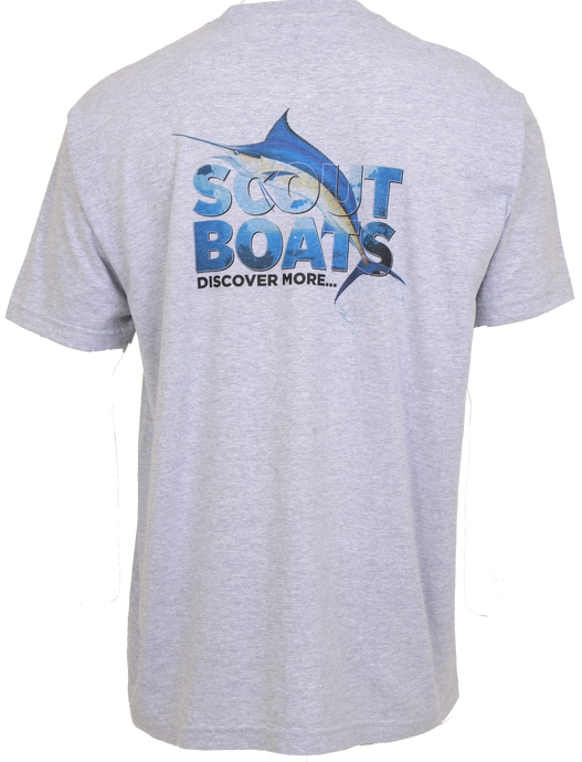 Scout Boats Short Sleeve Block Cotton T-shirt