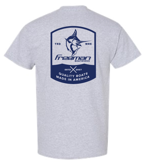 Freeman Boatworks Shield Logo Short Sleeve Shirt