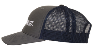 Freeman Boatworks Charcoal and Navy Trucker Hat