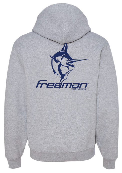 Freeman Boatworks Sweatshirt - Grey