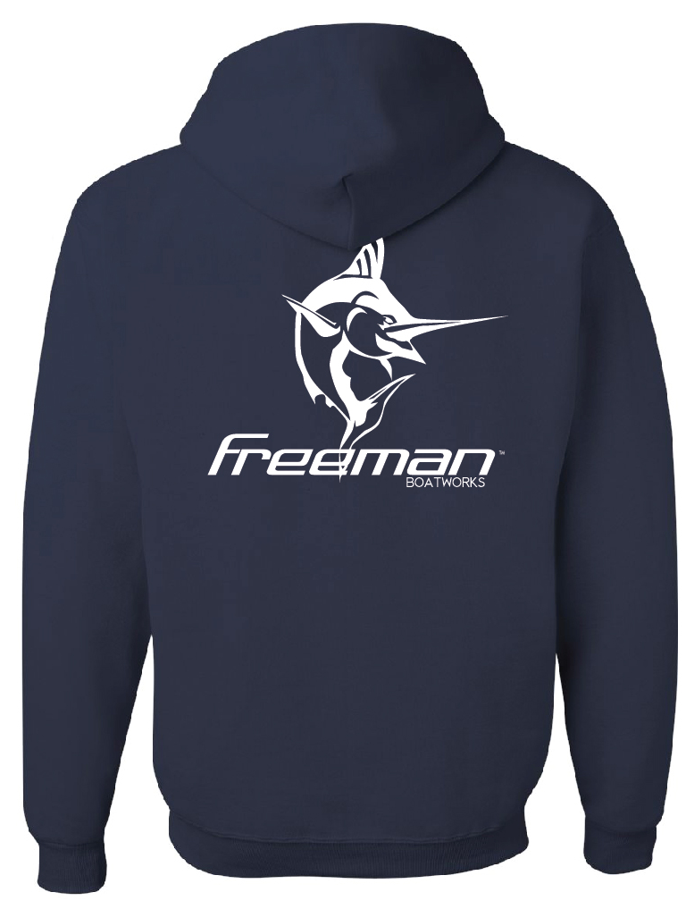 Freeman Boatworks Sweatshirt - Navy