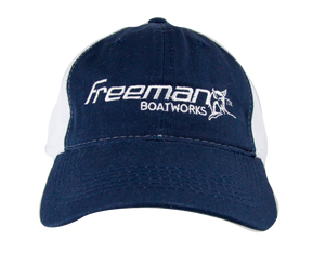 Freeman Boatworks Unstructured Trucker Hat