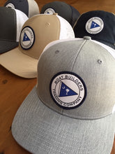 Boat Builders Trading Co. SC Flag Patch Structured Trucker Hat - Khaki/White
