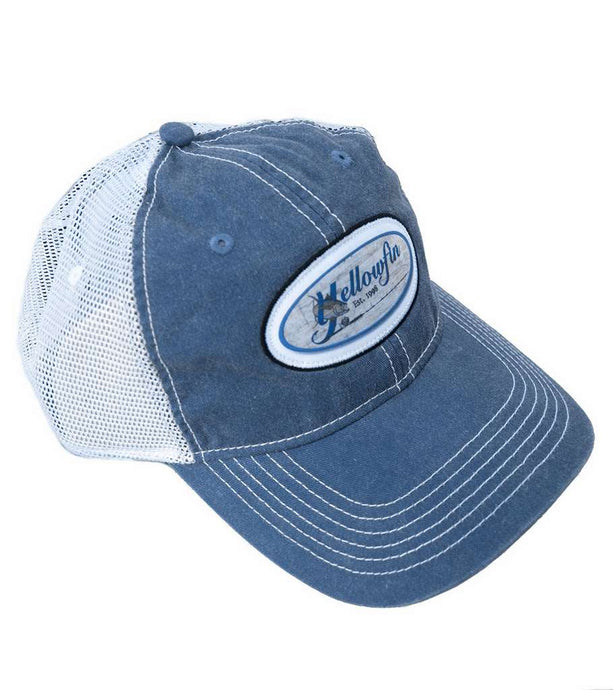 Yellowfin Logo Vintage Trucker Hat