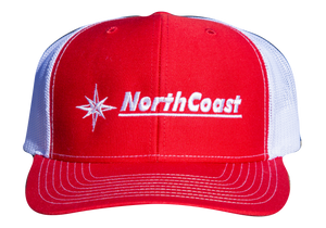 NorthCoast Boats Trucker Hat - Red