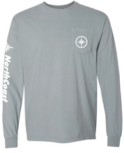 NorthCoast Boats Long Sleeve T-Shirt - Grey