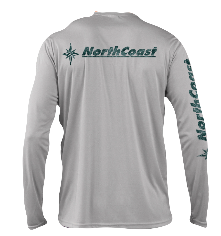 NorthCoast Boats Performance Long Sleeve - Spindrift Grey