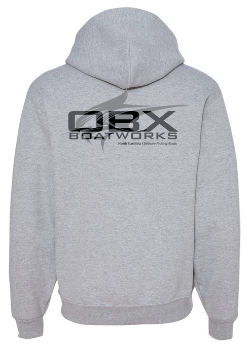 OBX Boatworks Sweatshirt Sailfish - Grey