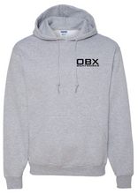 OBX Boatworks Sweatshirt Line Drawing - Grey
