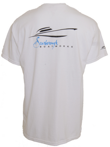 Scarborough Boatworks Short Sleeve T-shirt - White