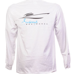 Scarborough Boatworks Long Sleeve T-Shirt - White
