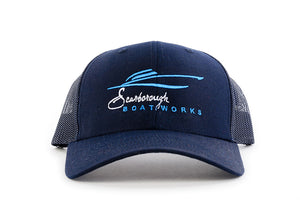 Scarborough Boatworks Trucker Hat - Navy