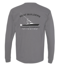 Boat Builders Trading Co. Walkaround  Long Sleeve - Grey