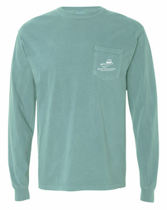 Boat Builders Trading Co. Walkaround  Long Sleeve - Seafoam