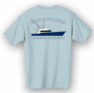 Boat Builders Trading Co Custom Sportfish - Navy Blue Hull