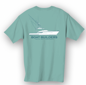 Boat Builders Trading Co. Walkaround - Seafoam