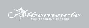 Albemarle Boats Window Transfer Decal