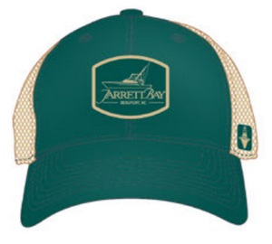 Jarrett Bay Boatworks Logo Trucker Hat