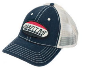 Jarrett Bay Boatworks Service Patch Trucker Hat