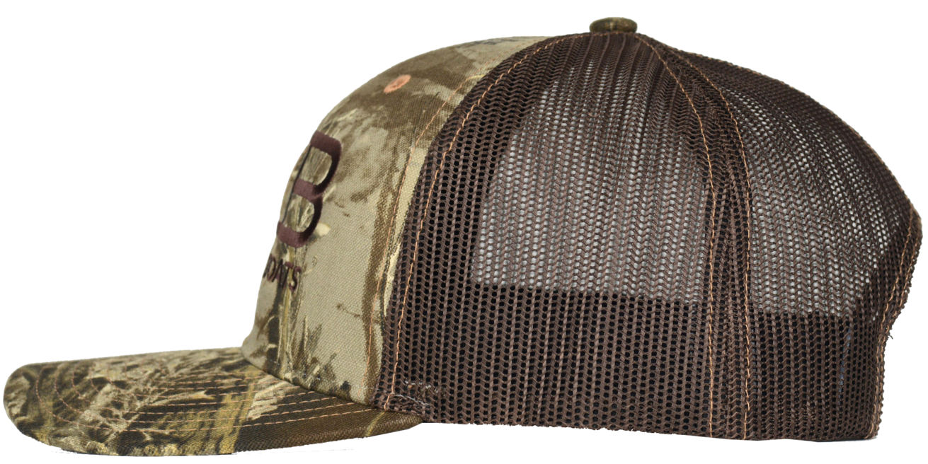 f6e715277363c Rose Bay Boats Realtree Max Camo with Brown Trucker Hat – Boat ...