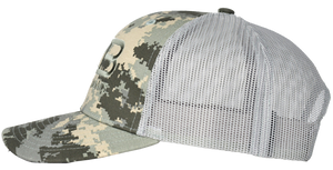 Rose Bay Boats Digital Camo Light Green Hat