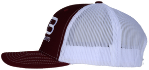 Rose Bay Boats Red Trucker Hat