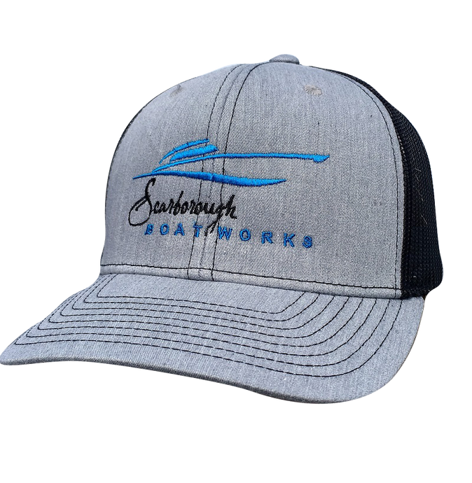 Scarborough Boatworks Trucker Hat - Heather Grey