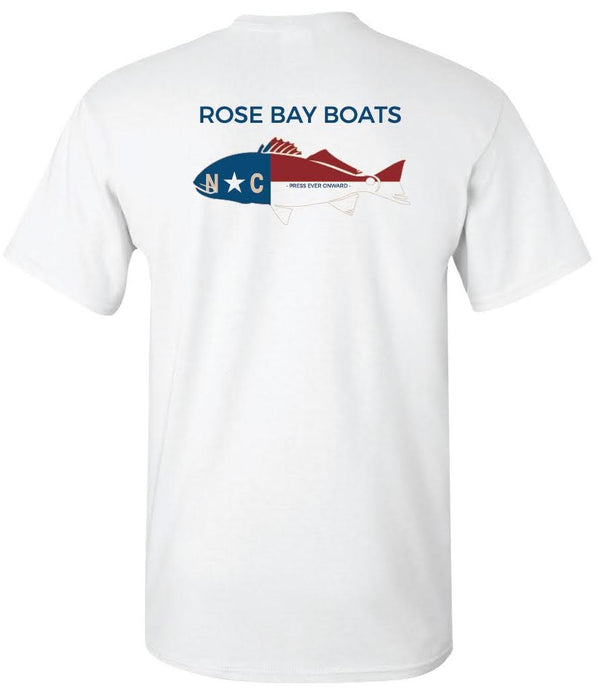 Rose Bay Boats NC Drum Shirt