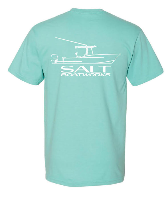 Salt Boatworks Short Sleeve - Chalky Mint