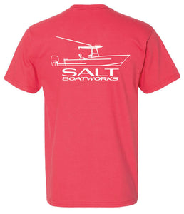 Salt Boatworks Short Sleeve - Paprika