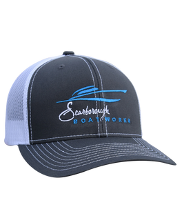 Scarborough Boatworks Trucker Hat - Graphite Grey